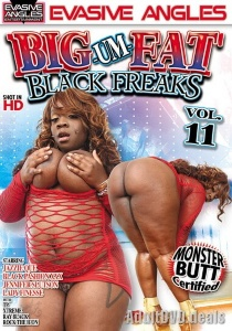 Big-Um-Fat Black Freaks 11