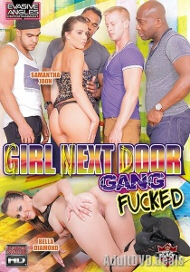 Girl Next Door Gang Fucked