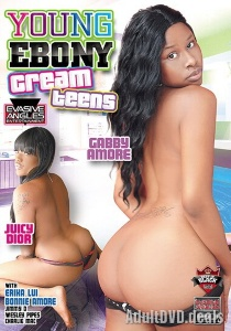 Young Ebony Cream Teens